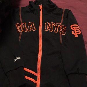 Girls San Francisco Giants sweet jacket